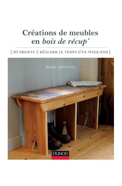 Créations de meubles en bois de récup'