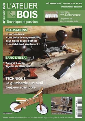 L'Atelier Bois n°201